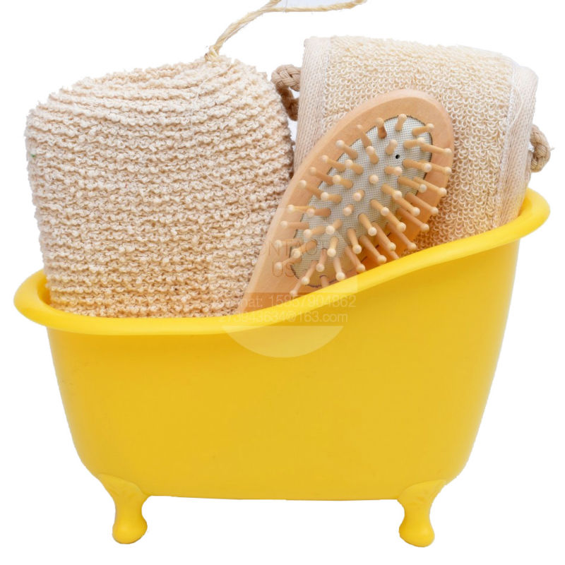 NEW ARRIVAL LEECO BATHROOM GOODS STORE Bath set bath sponge comb ...