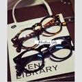 Caliente Nueva Moda Hombre Mujer Unisex gafas de Montura Redonda Gafas De Grau anteojos ópticos Borde ordenador de La Vendimia Marca de Diseño
