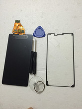 For Sony Xperia ZR M36h C5503 C5502 LCD Display Screen + Touch Panel Monitor Screen Digitizer free shipping