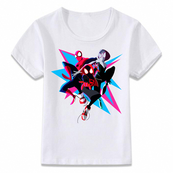 T-shirt Enfants Spiderman Unisexe