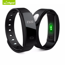 QS80 Smart пульсометр SmartBand крови Давление Смарт Браслет Спорт SmartBand фитнес-трекер для iOS и Android