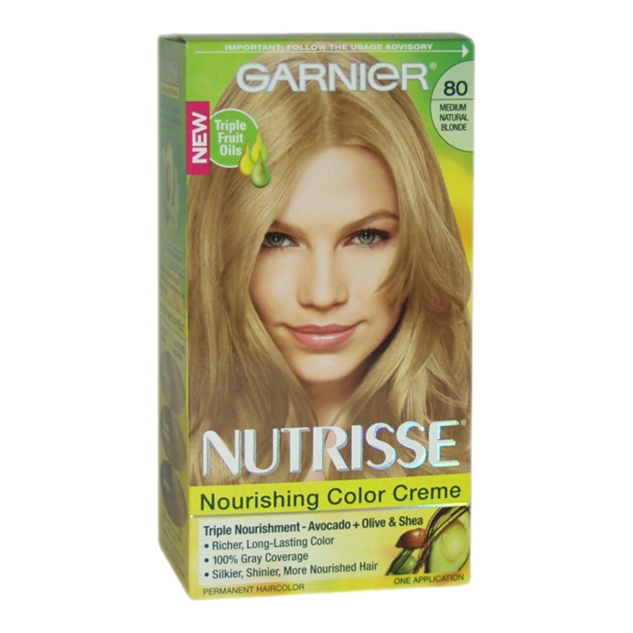 Nutrisse Nourishing Color Creme 80 Medium Natural Blonde By