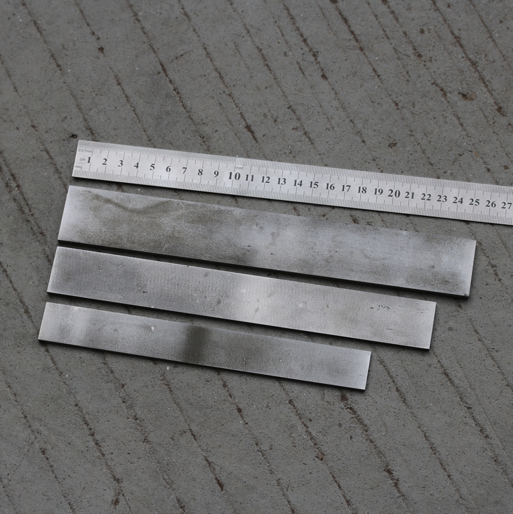 3-layer Blade Steel Blanks HRC57 Knife Making Steel Blanks  Knife DIY Blade Steel Bar Billets