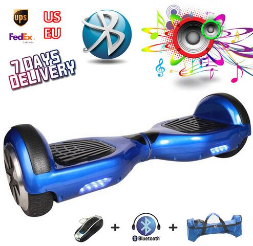 ul free ship Hoverboard Two Wheels Electric Self Balancing Hoverboard Scooter Portable Drift Smart Balancing Electric