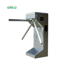 Vertical Waist High Tripod Turnstile /Construction engineer management Access control systemTurnstile Atuo Gate rfid access control swing gate turnstile for outdoor access gate