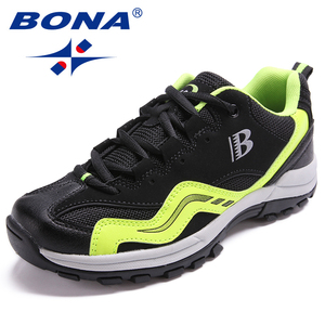 Image 5 - BONA คลาสสิกใหม่สไตล์ผู้หญิงเดินป่ารองเท้ากลางแจ้งรองเท้าวิ่ง Lace Up รองเท้าสบายจัดส่งฟรี