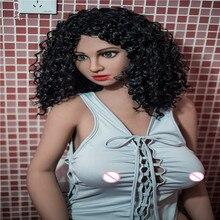 160 سنتيمتر #4 اللحم اللون الجلد أعلى جودة جميلة مثير امرأة الجنس روبوت كامل TPE مع هيكل عظمي معدني دمية جنسية لعبة الجنس للرجال