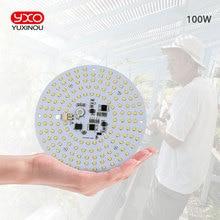 Fahrer 100W AC Led Wachsen Licht LED Lampe Volle Spektrum Samsung LM301B 3000K 660nm DIY LED Anlage Wachsen licht für Veg/Blüte