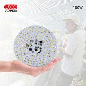 Image 3 - Fahrer 100W AC Led Wachsen Licht LED Lampe Volle Spektrum Samsung LM301B 3000K 660nm DIY LED Anlage Wachsen licht für Veg/Blüte