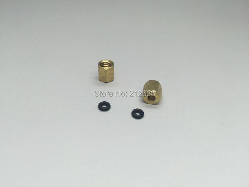 20pcs DX4 damper Copper Screw Stud Fasten on Damper DX4 with Ink Tube 4 O D