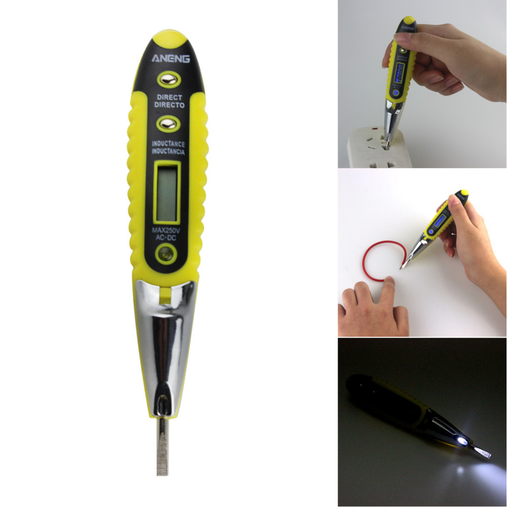 Simpson Electric Ac High Voltage Probe : High quality v ac dc electric voltage detector meter