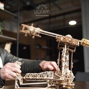 Image 4 - UGEARS Holz Mechanische Montage von Geburtstag Geschenke für Piloten Geschenk Modell