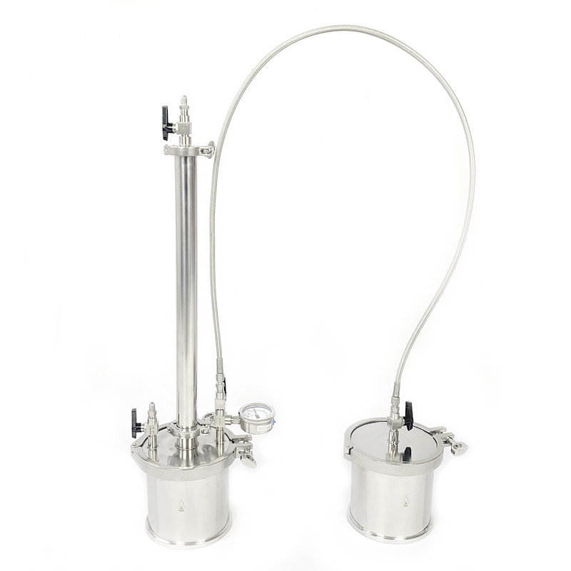 160g  BHO Extractor kit, Closed Loop System. 2 x 20 spool. 160g  BHO Extractor kit, Closed Loop System. 2 x 20 spool.