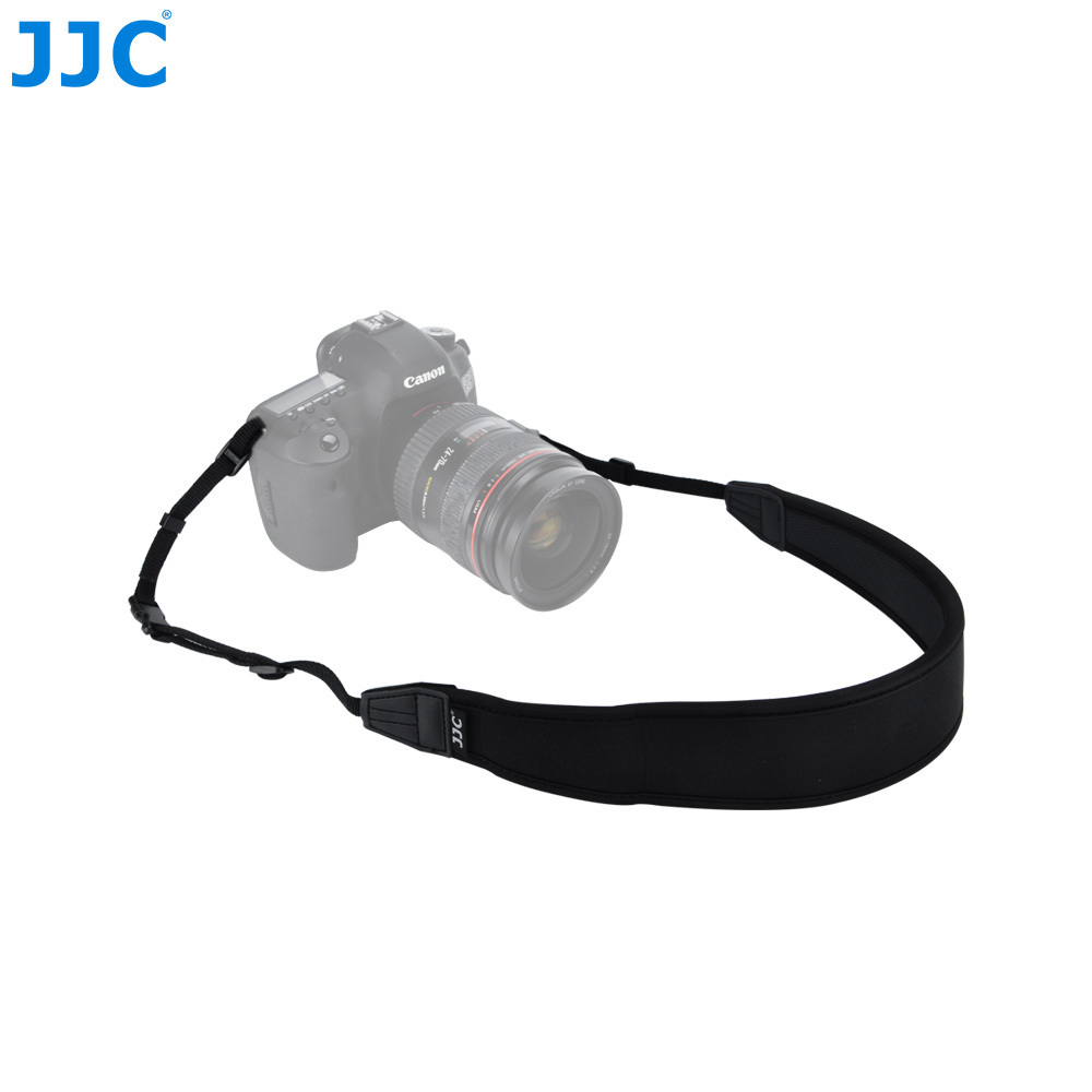 цена на JJC Quick Release Neck Wide Strap Anti-slip DSLR Camera Shoulder Neck Straps for Canon/Nikon/Sony/Pentax/Samsung Photo Grip
