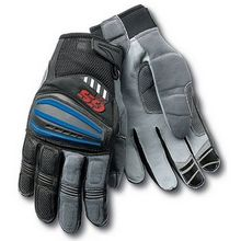 2017 Motorcycle Motorrad Rally Black Red Leather Gloves FOR BMW GS1200 GS Cycling Gloves