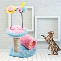 Cat Toy Cat Scratch Board Small Bee Cat Climbing Frame Sisal For Cats Cat Scratch Pillar