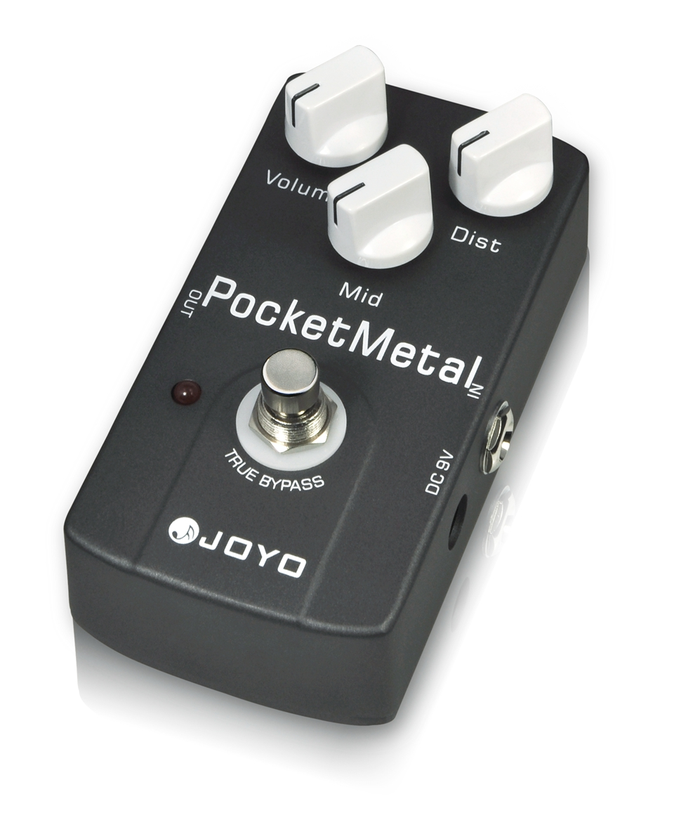 JOYO Guitar Pedal Metal Distortion Effect Pedal Pocket Metal Box JF-35 True Bypass joyo jf 34 high gain distortion us dream guitar effects with 3 knobs