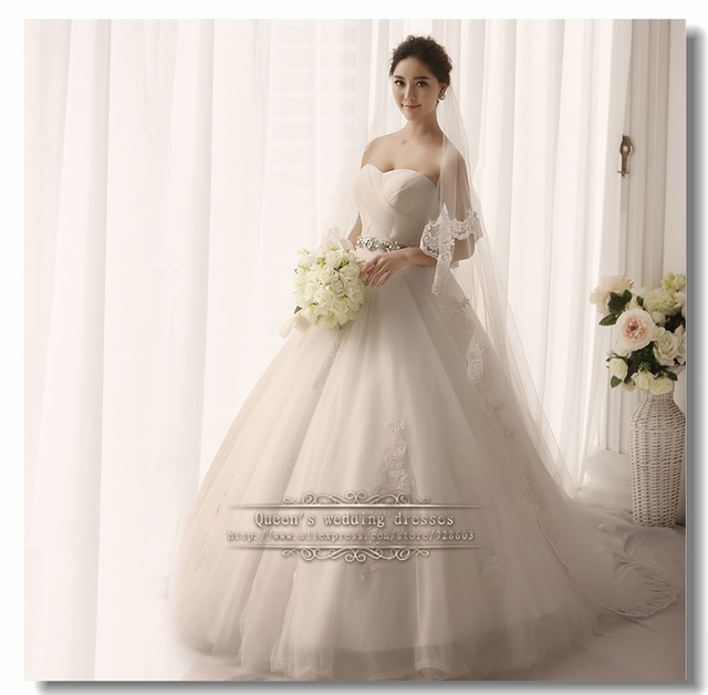 Strapless Wedding Gown Lace Black Bride Sashes And Belt Under 200