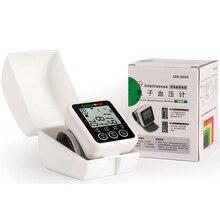 English Wrist Arm Type Electronic Sphygmomanometer Household Electronic Sphygmomanometer Free Speech Oximeter