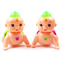 Hot Funny Singing Toys Twist Ass Crawling Doll Electronic Toy Baby Children Kids Toys LED Glowing Toddler Educational Toy Gift hot funny infant baby child simulation doll kids educational developmental early teaching toys education toy doll good gift new