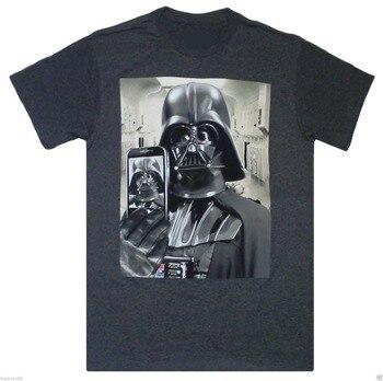 StormTrooper Graphic Series Men T Shirt Star Wars Darth Vader JEDI Selfie Funny Design Printed Cotton Tee Summer Hot Sale Shirt darth vader