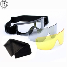 X800 Tactical Safety Goggles Airsoft Military Sunglasses Motorcycle Eye Protection Eyewear Cycling Hunting Hiking Sunglasses