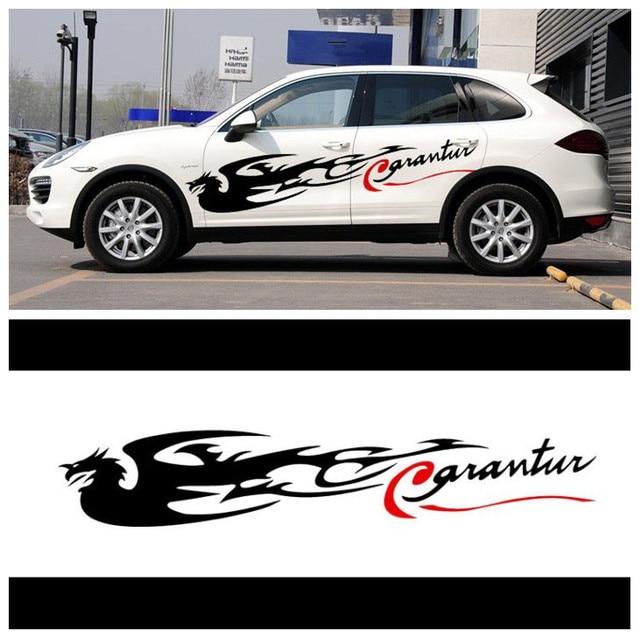 2015 new arrive 15028cm cute cool design fenghuang phoenix car styling door sticker car