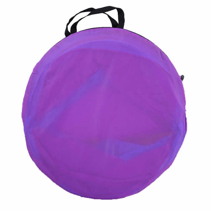 Crianças três-cor túnel de jogo única camada mista cor fio de aço + tecidos não tecidos jogo passagem túnel brinquedos para crianças