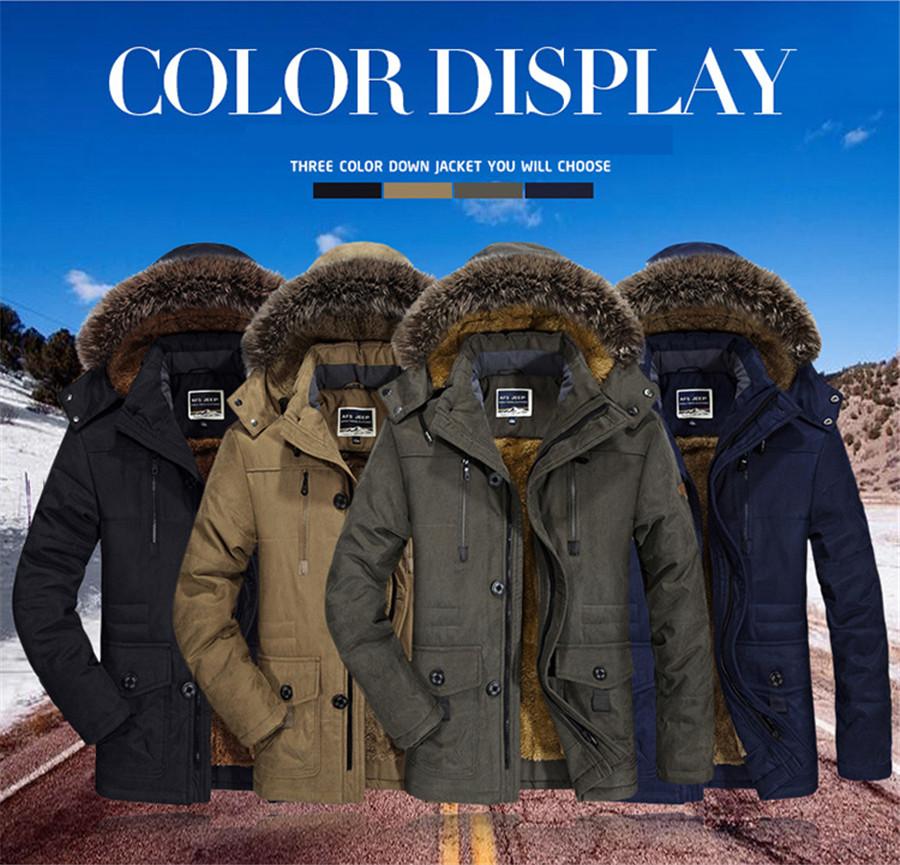 cf4d9e5562d Wholesale PEILOW Plus Size 5XL 6XL Winter Jacket Men Thick Windproof ...
