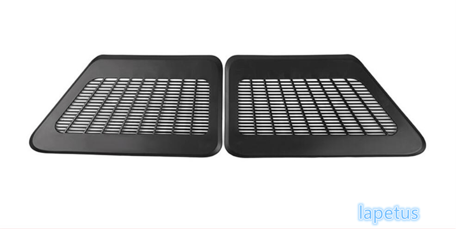 For BMW 5 Series F10 2011 2012 2013 2014 2015 2016 Plastic Seat Under Air Conditioning Outlet Vent Decoration Net Cover Trim