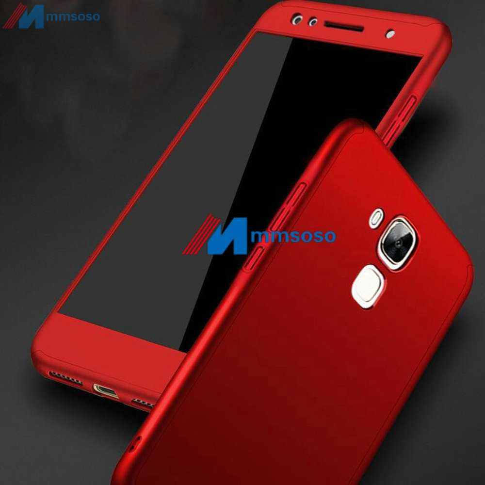 360 Full Cover Case On Huawei GX8 Case G8 G 8 RIO L03 L02 L01 Cover For Huawei GX8 GX 8 RIO-L01 RIO-L02 With Tempered Glass