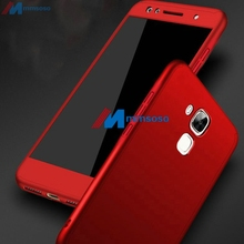 360 Full Cover Case On Huawei GX8 Case G8 G 8 RIO L03 L02 L01 Cover For Huawei GX8 GX 8 RIO L01 RIO L02 With Tempered Glass