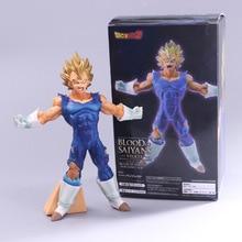 19cm Dragon Ball Z Son Goku Vegeta Action Figure Blood of Saiyan Battle Damaged Model Doll Children Gift