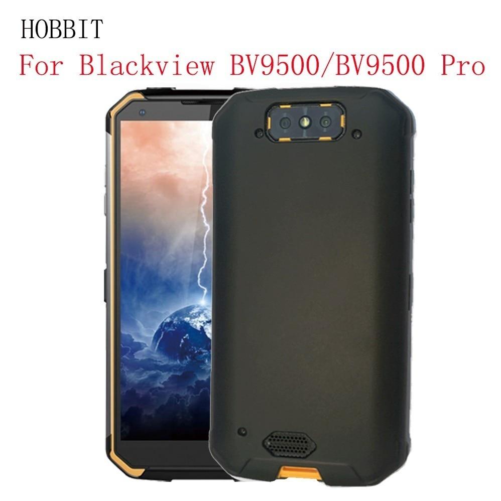 For Blackview Bv9500 Bv9900 Pro Black Matte Anti-knock Phone Case Blackview Bv9800 Pro Soft Case Ultra Thin Silicone TPU Case(China)