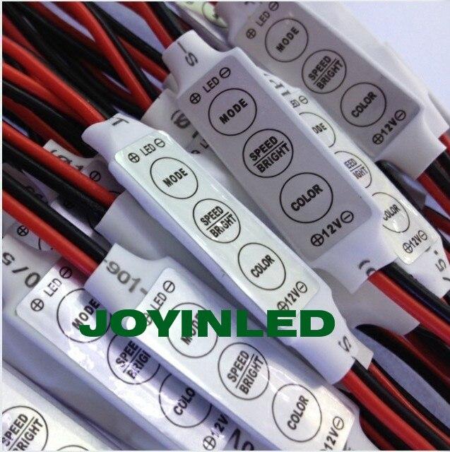 2db / tétel 12V ultravékony mini hordozható, egyszínű LED-es - Világítási kiegészítők