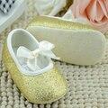 2017 Del Bebé del niño de Prewalker Suave Suela Los Zapatos Del Pesebre Infantil de Las Muchachas de La Cinta antideslizante Zapatos de la Nueva Llegada