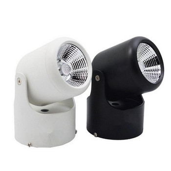 Hot Sale  Newest 10W White shell/Black shell COB Surface Mounted Led Down Light Round Spot light AC85-265V