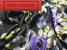 100% pure mulberry soft satin Silk sateen fabric dressmaking scarf skirt materials Silk Clothes Fabric Wholse a Yard D144-