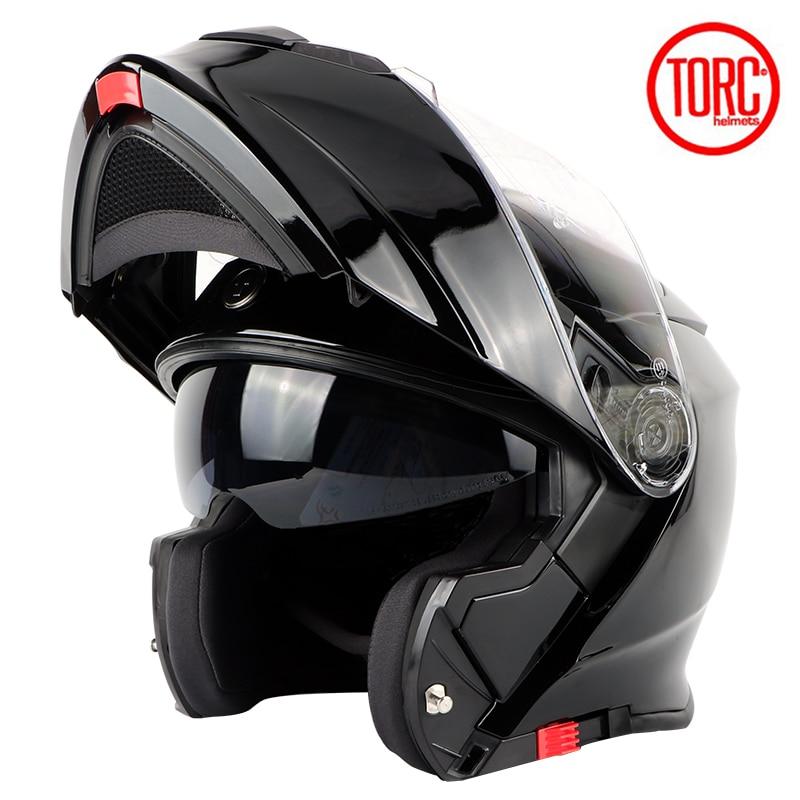 TORC мотоциклдік дулыға FLIP UP дулыға - Мотоцикл аксессуарлары мен бөлшектер - фото 4
