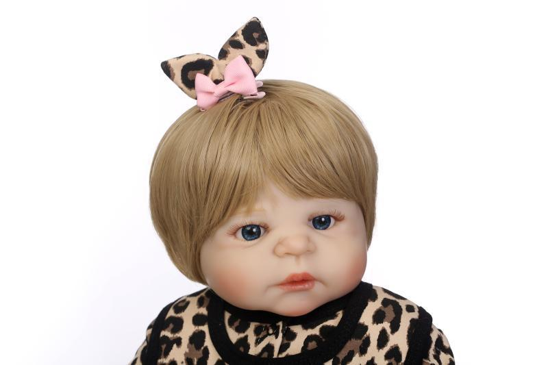 Baby Toys Simulation Baby Doll Soft Silica Gel font b Bebe b font Alpinia Oxyphylla Initiation