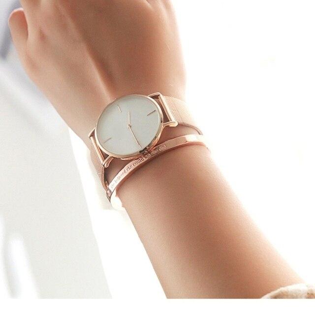 женский браслет манжета с фианитами розовое золото фотография