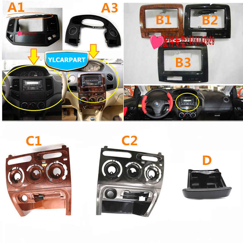 For Geely MK1,MK 1 2,MK2,MK Cross Hatchback,Car CD decoration frame, dashboard middle conditioning vent ,Center console cover,