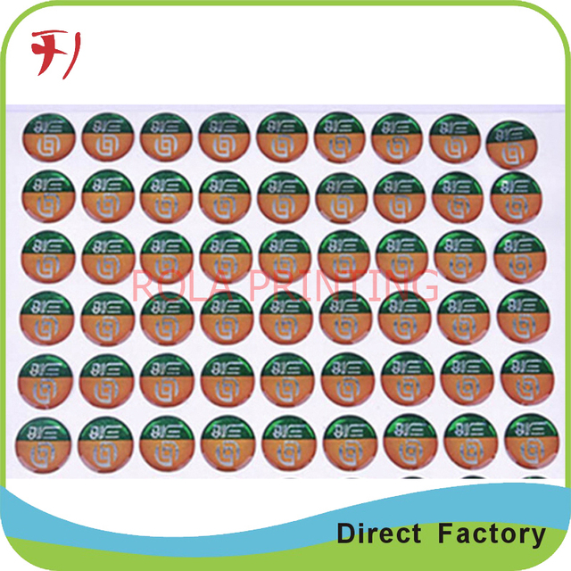 Customized vinyl outdoor sticker paper printing