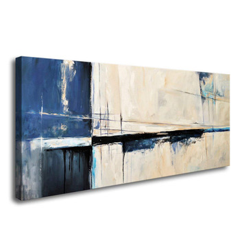 Hand painted Wall Art Framed Canvas Abstract Color Block Stretched and Unframed Canvas Paintings Ready to Hang for Home