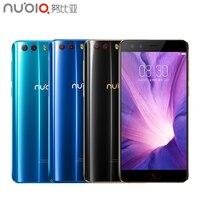 Оригинальный Для ZTE Nubia Z17 Mini S сотовый телефон 5,2 дюймов 6 ГБ 64 ГБ MSM8976 Pro Octa Core Android 7,1 Dual фронтальная/задняя камера смартфона