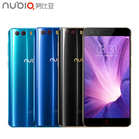Original Global Version ZTE Nubia Z17 Mini S Cell Phone 5.2 inch 6G+64G MSM8976 Pro Octa Core Android 7.1 Dual Camera Smartphone