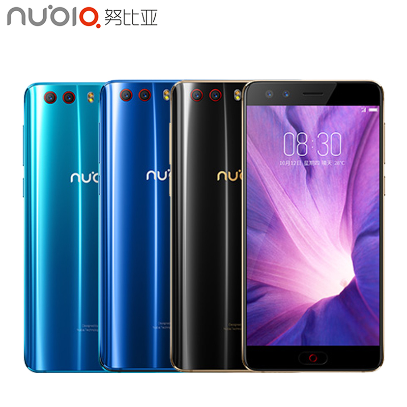 Original ZTE Nubia Z17 Mini S Cell Phone 5.2inch 6GB 64GB MSM8976 Pro Octa Core Android 7.1 Dual Front Back Camera Smartphone