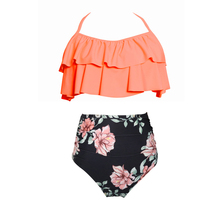 d47dfebbc82 Separate Female Swimsuit Bottom Bikinis 2019 Mujer Ruffle Bikini Tops High  Waist Swim Bottoms Panties Women