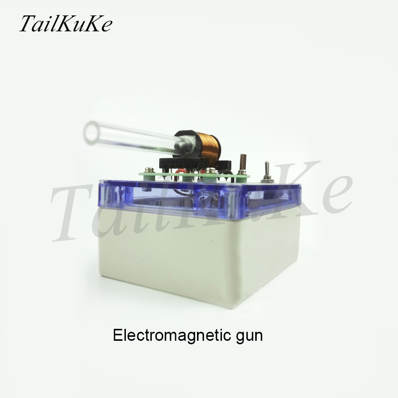 (B Type) Primary Electromagnetic Gun, DIY Kit, Primary And Secondary Technology, Coil Gun