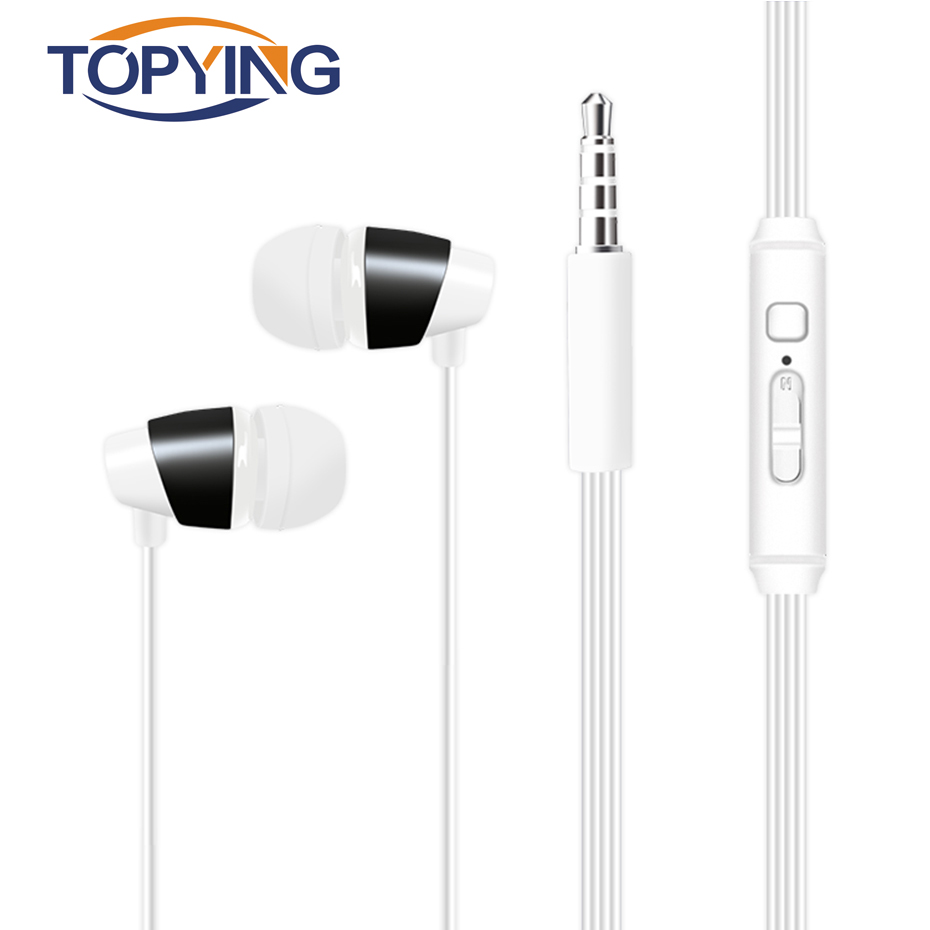 TOPYING Earphone For Sport In-Ear Style Earphone For Running High Quality Earphone For Sport With Mircophone